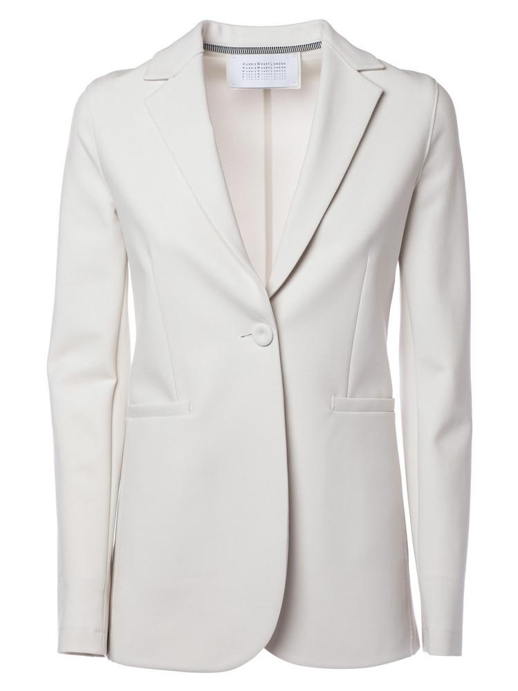 Harris Wharf London Fitted Blazer in white