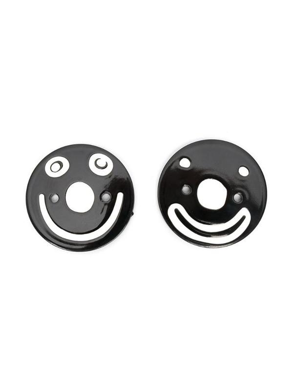 10 CORSO COMO Smile sneaker patches in black