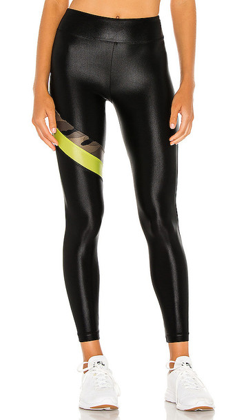 KORAL Stage High Rise Infinity Legging in Black