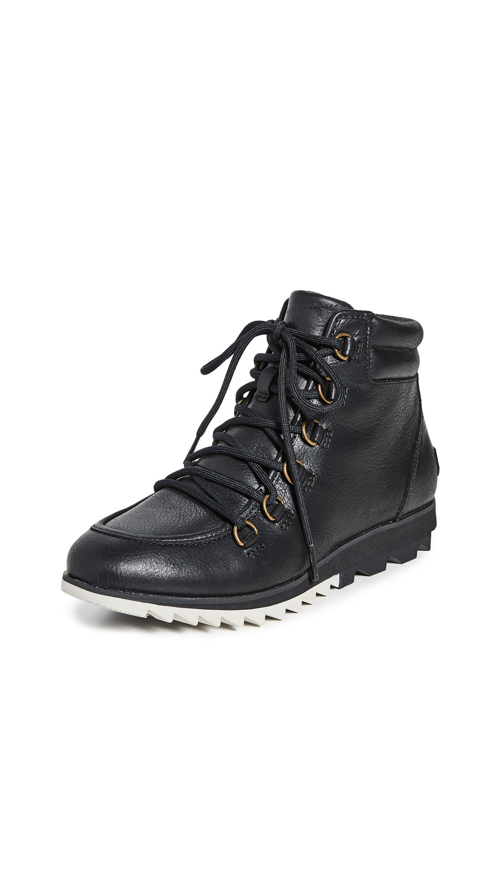 Sorel Harlow Lace Up Booties in black