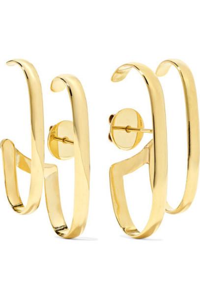 Ana Khouri - Double Lauren 18-karat Gold Earrings