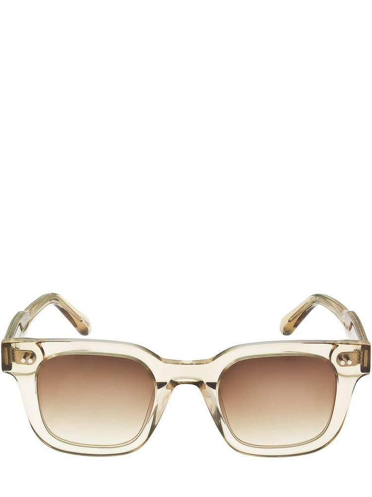 CHIMI 04 Squared Acetate Sunglasses in ecru