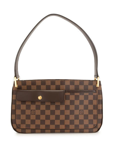 Louis Vuitton pre-owned Damier Ebène Aubagne shoulder bag in brown