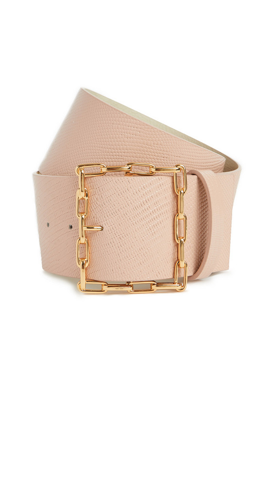 Lizzie Fortunato Geo Chain Belt in blush