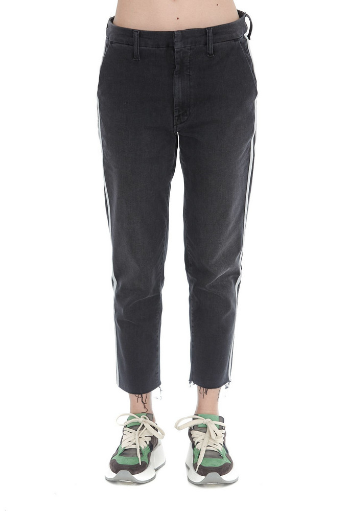 Mother The Shaker Jeans in anthracite