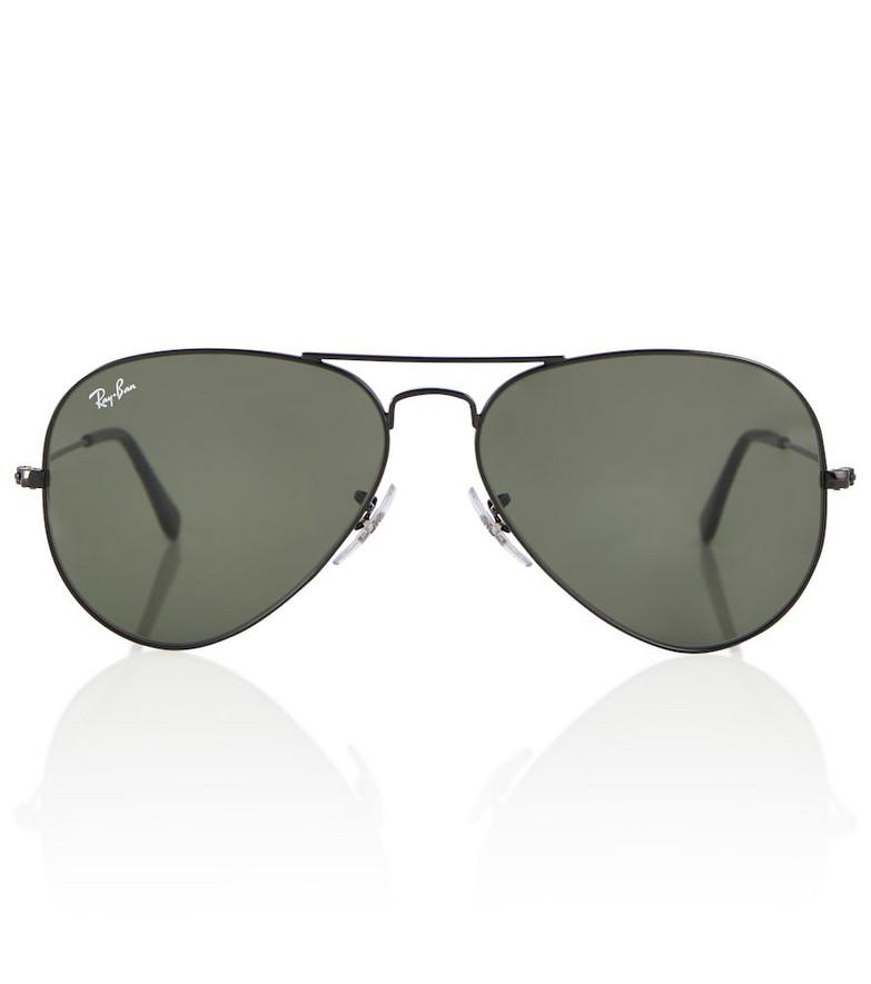 Ray-Ban RB3025 aviator sunglasses in black