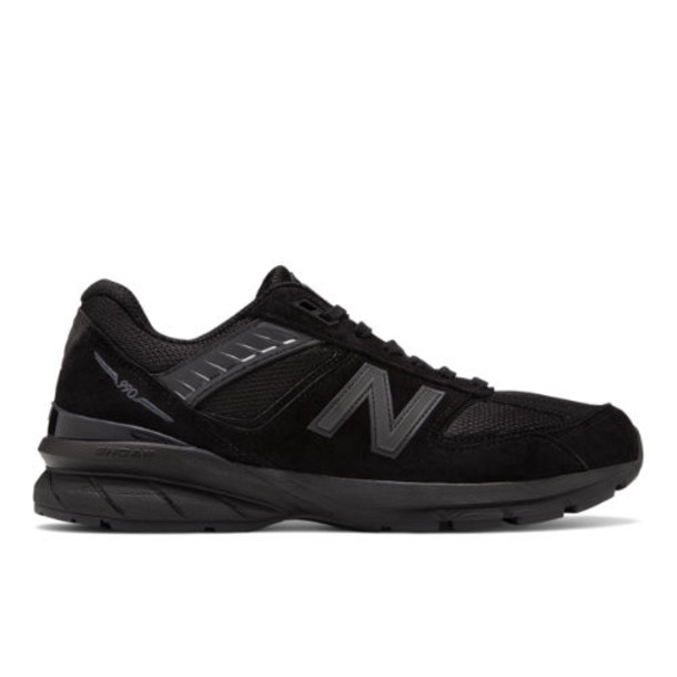New Balance Made in US 990v5 Men's Made in USA Shoes - Black (M990BB5)