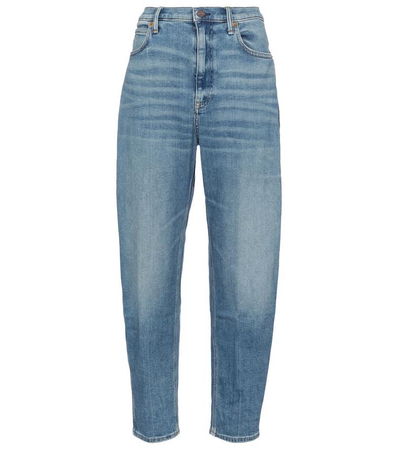 Polo Ralph Lauren High-rise boyfriend jeans in blue