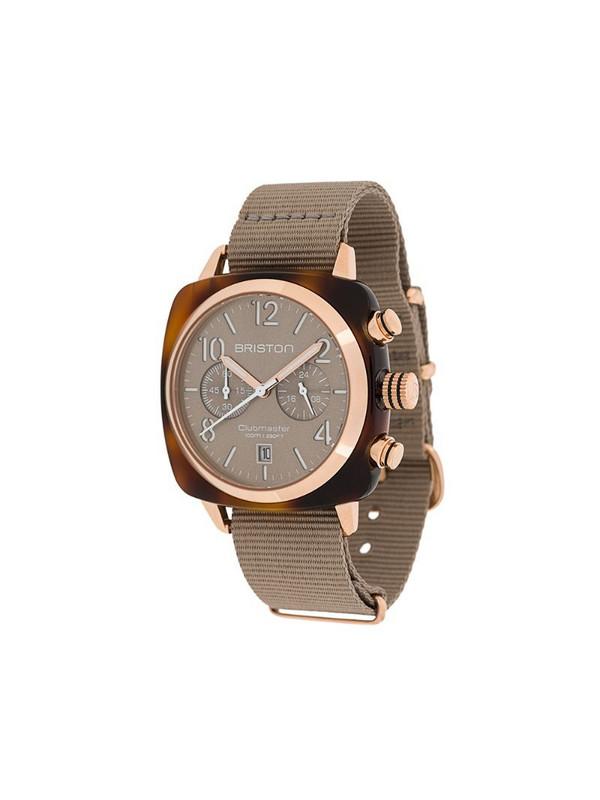 Briston Watches Clubmaster Classic 40mm watch in neutrals