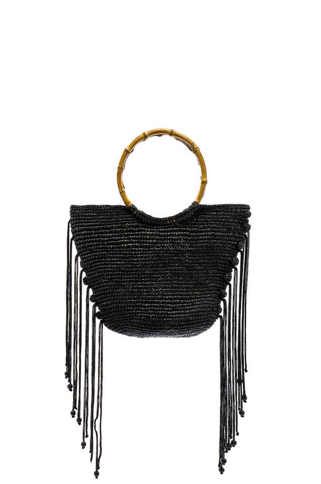 SENSI STUDIO Baby Oval Base Bag in black