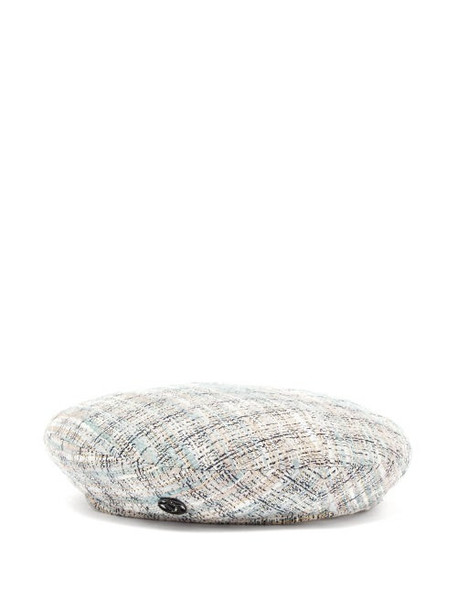 Maison Michel - New Billy Tweed Beret - Womens - Blue
