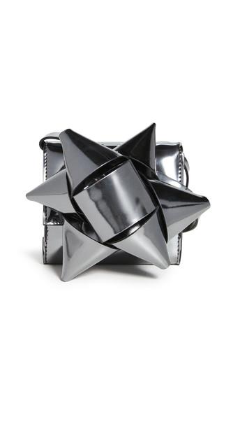 MM6 Maison Margiela Metallic Bow Crossbody Wallet