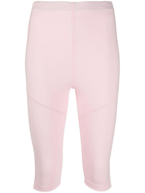 Styland cropped leggings in pink