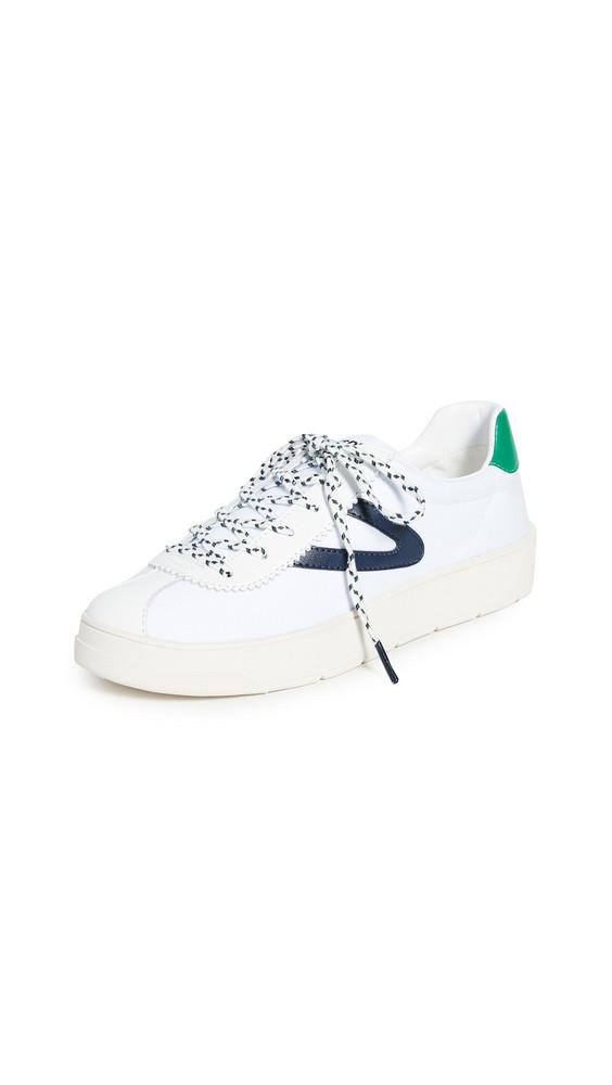 Tretorn Hayden Sneakers in green / white