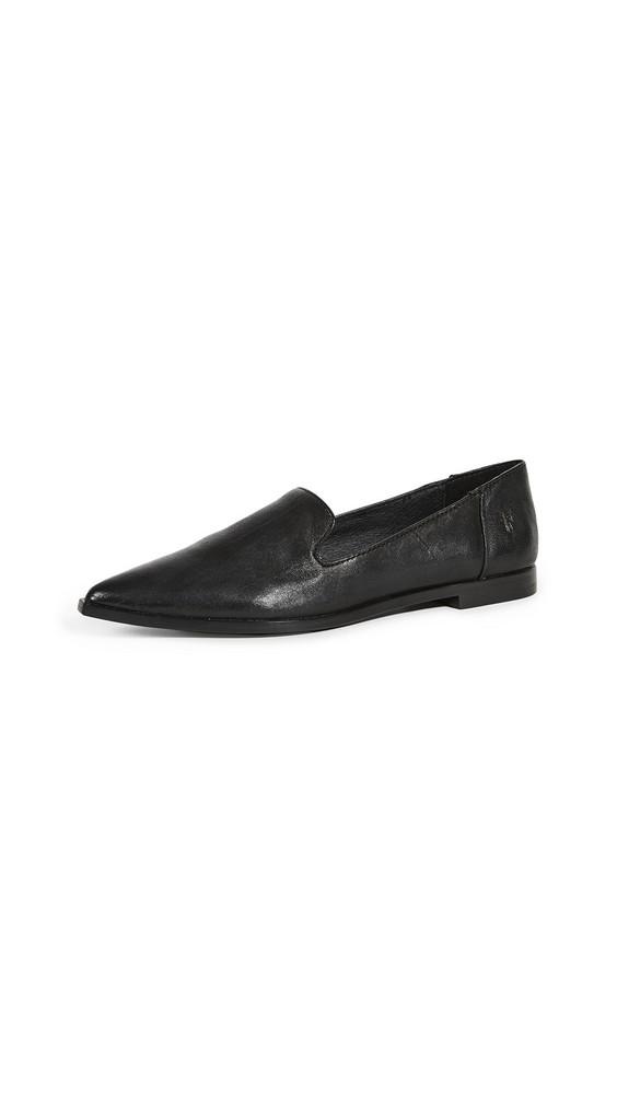 Frye Kenzie Venetian Loafers in black
