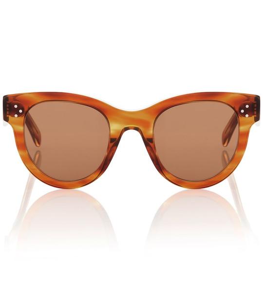 Celine Eyewear Cat-eye acetate sunglasses