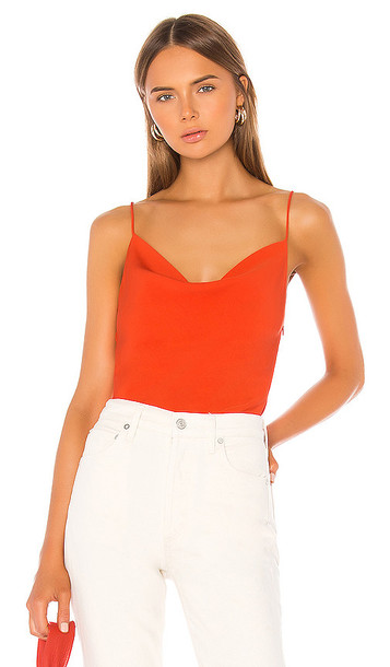 superdown Angelina Cami Top in Red