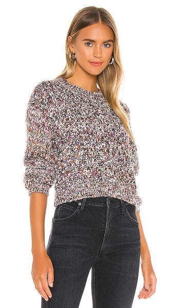 MINKPINK Maxine Knit Sweater in Purple in multi