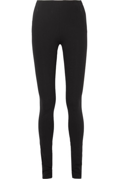The Row - Corza Stretch-scuba Skinny Pants - Black