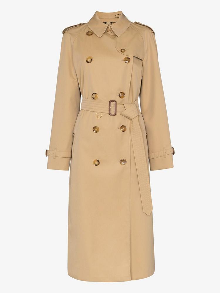 Burberry Cotton Gabardine Trench Coat in neutrals