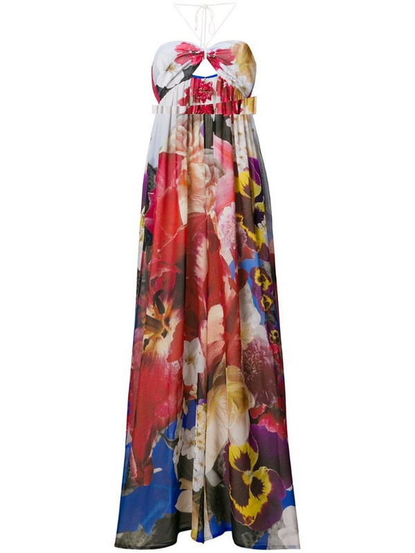 Roberto Cavalli floral print jumpsuit