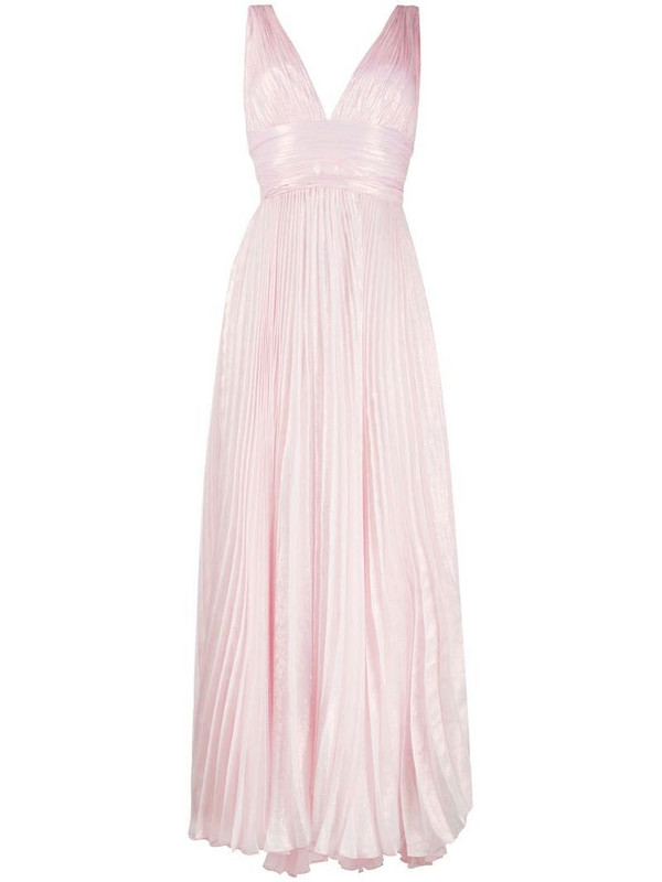 Maria Lucia Hohan Pryia pleated dress in pink