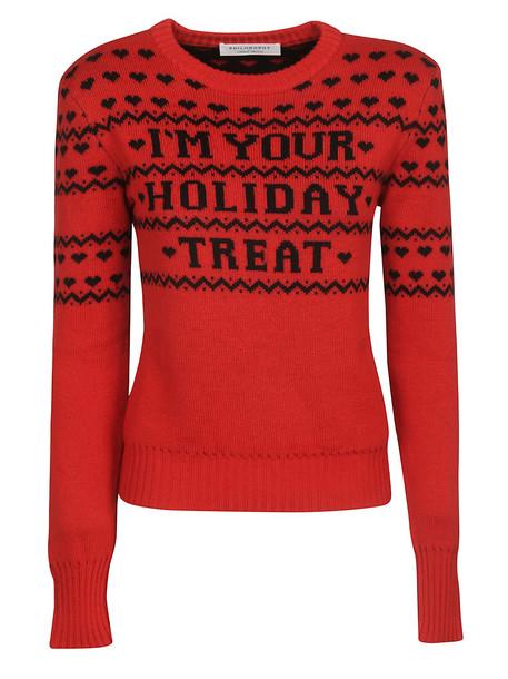 Philosophy di Lorenzo Serafini Im Your Holiday Treat Sweater in nero