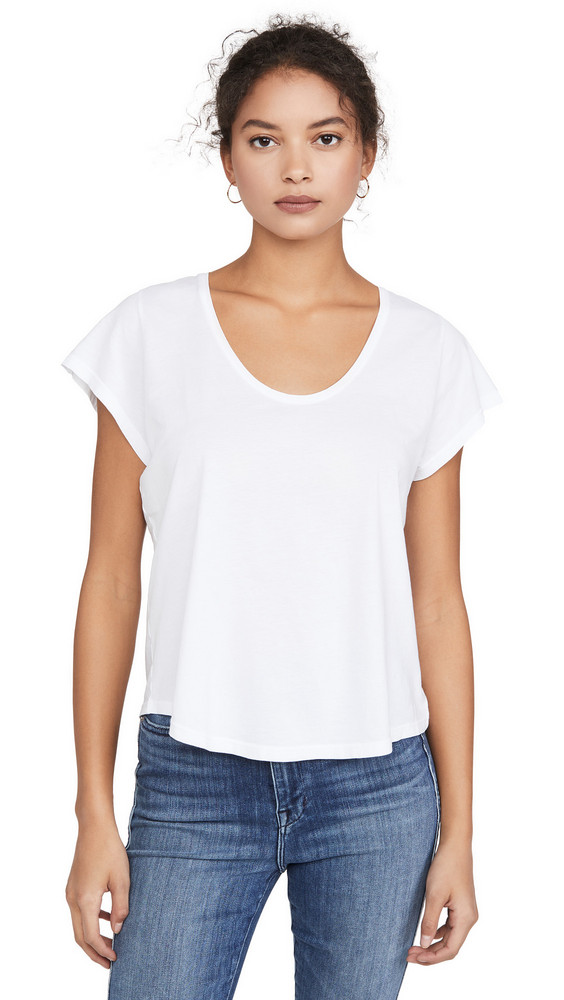 AYR Scooper Cool Tee in white