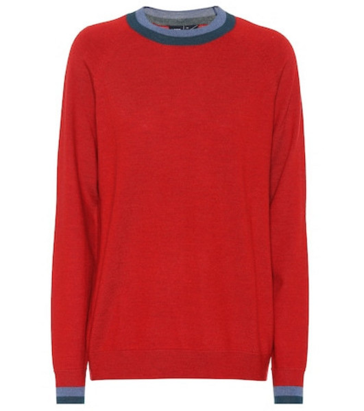 Lndr Chalet wool sweater in red