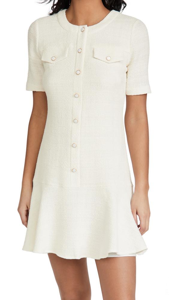 Shoshanna Sala Dress in white
