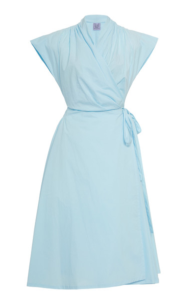 Thierry Colson Isolde Midi Dress Size: S in blue