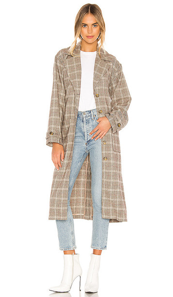 AMUSE SOCIETY Emmanuelle Trench in Brown