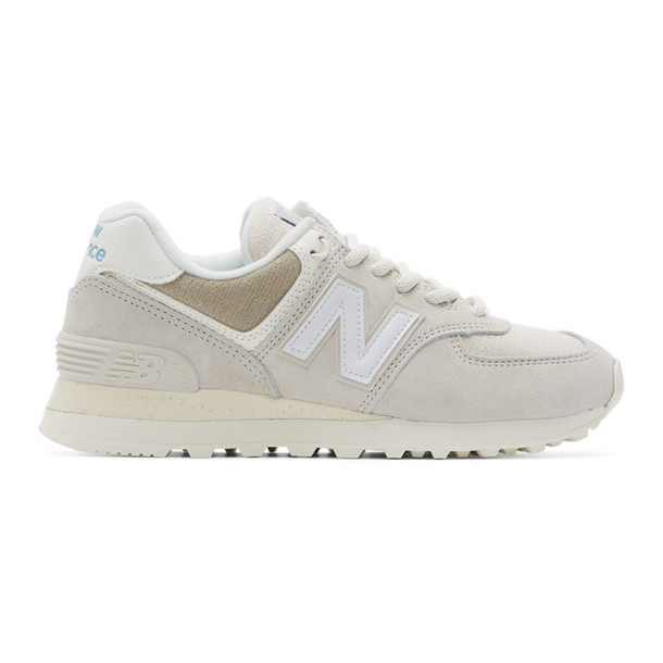 New Balance Beige 574 Sneakers