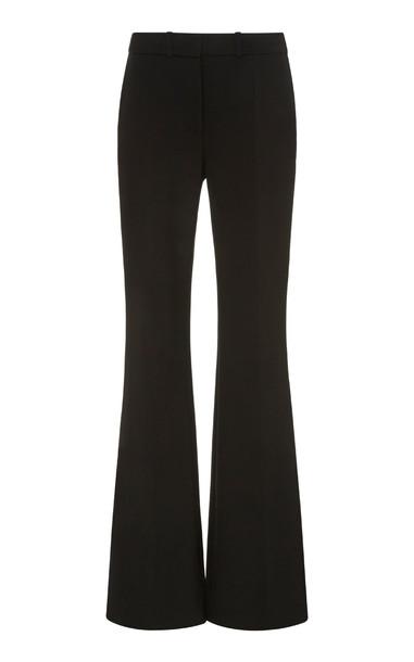 Victoria Victoria Beckham Victoria Crepe Split-Hem Tuxedo Trousers in black