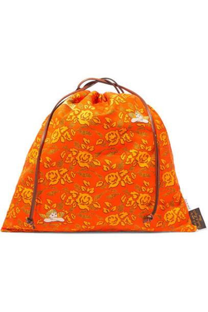 Loewe - Paula's Ibiza Printed Canvas Tote - Orange