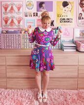 scathingly brilliant,blogger,dress,t-shirt,shoes,belt