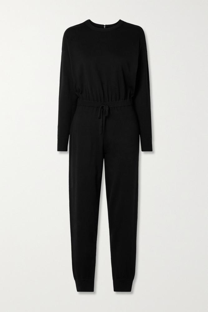 ALICE + OLIVIA ALICE + OLIVIA - Nikita Wool-blend Jumpsuit - Black