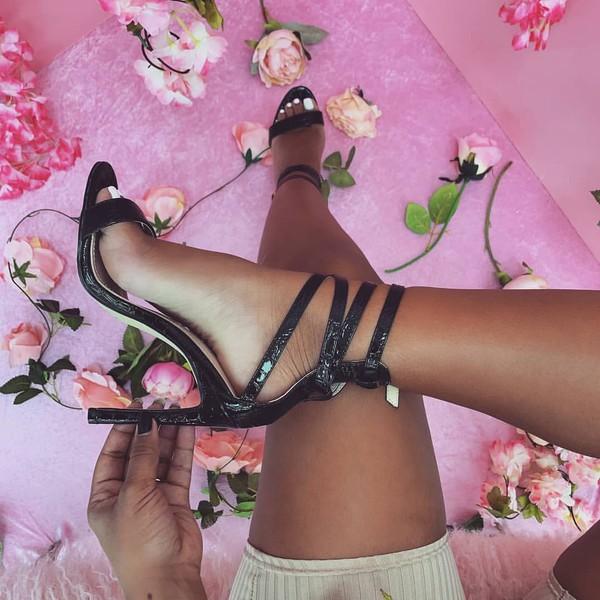 sandals black sandals shoes sandals sandal heels
