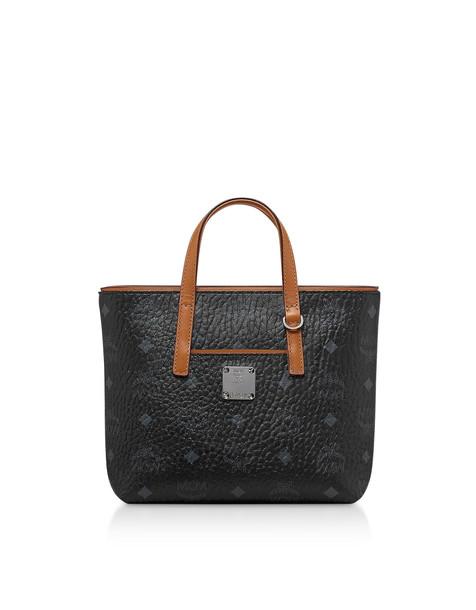 Mcm Anya Mini Shopping Bag in black