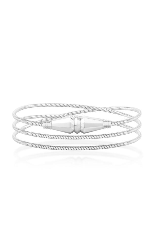 Boucheron Jack de Boucheron Convertible Necklace/Triple Wrap Bracelet in white