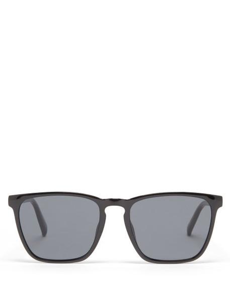 Le Specs - Bad Medicine Square Sunglasses - Womens - Black