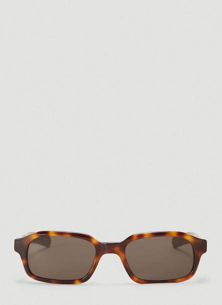 Flatlist Hanky Sunglasses in Brown size One Size