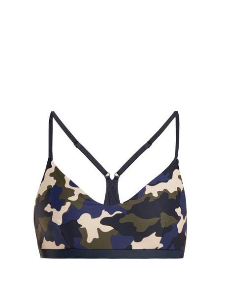 The Upside - Zoe French Camo Print Sports Bra - Womens - Camouflage