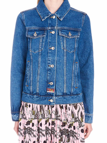 Kenzo 'bamboo Tiger' Jacket in blue