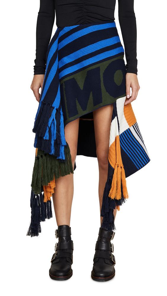 Monse Scarf Skirt in multi
