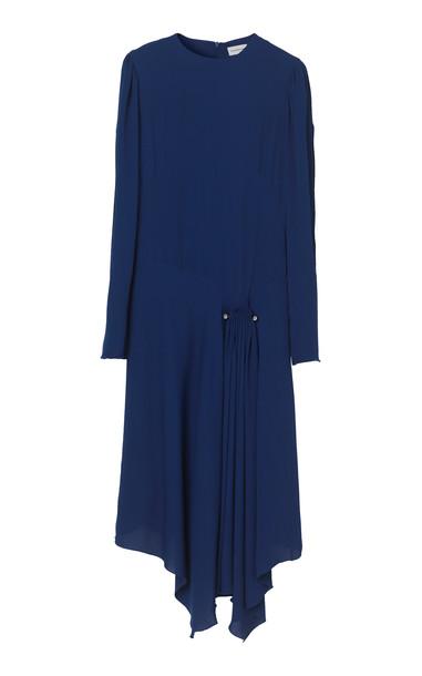 By Malene Birger Eria Crepe Dress in blue