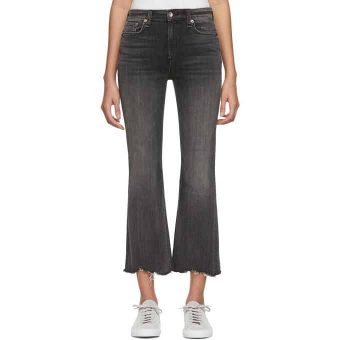 rag and bone rag & bone Black Nina High-Rise Jeans