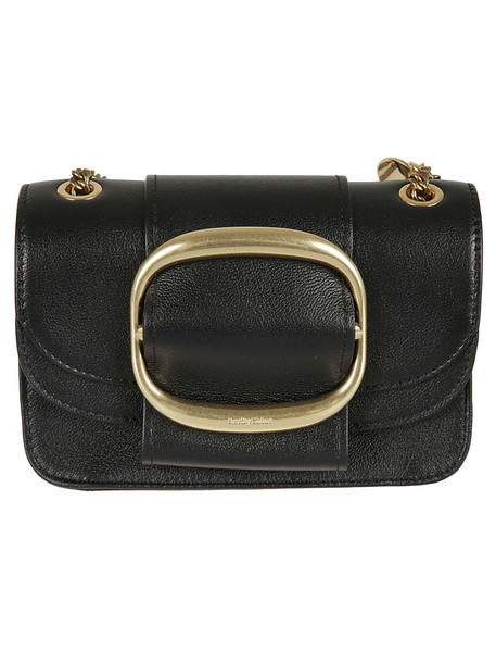 See by Chloé See By Chloé Hopper Shoulder Bag in black