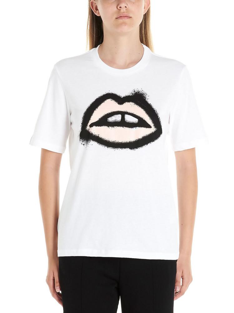 Markus Lupfer alex Spray T-shirt in white