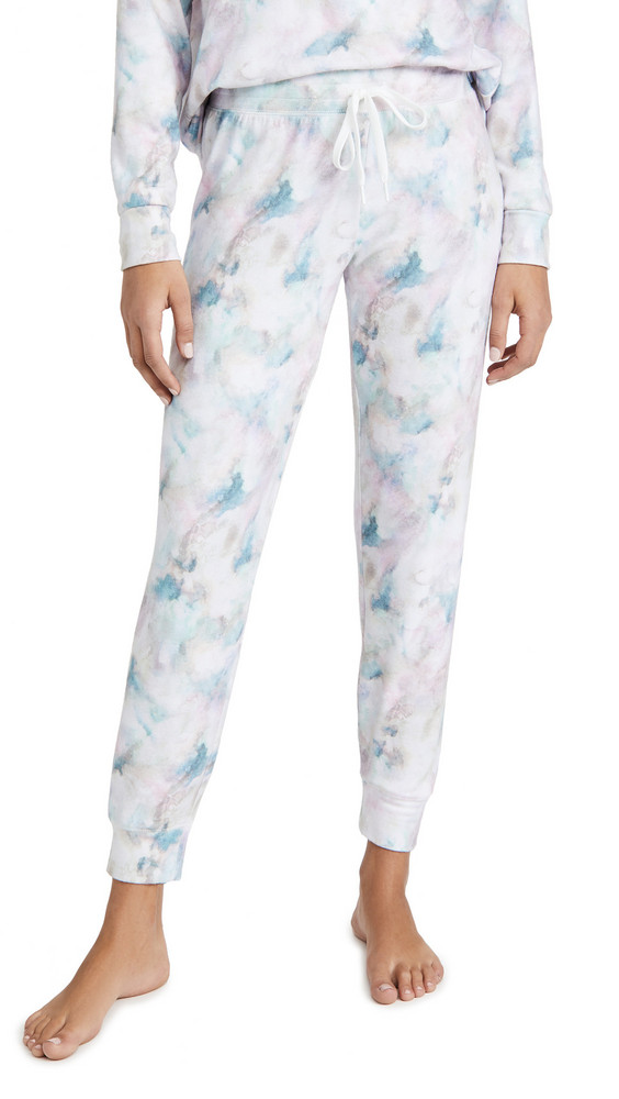 PJ Salvage Marble Vibes Band Pants in multi